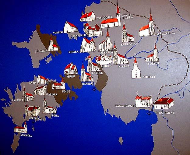 на этой карте-схеме