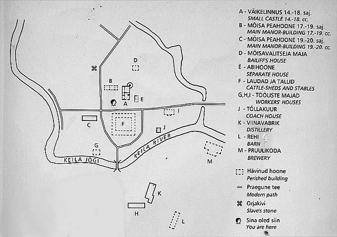 Планы замка