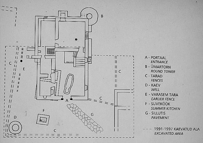 города Кейла (схема)