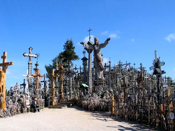 Крестовая гора в Литве